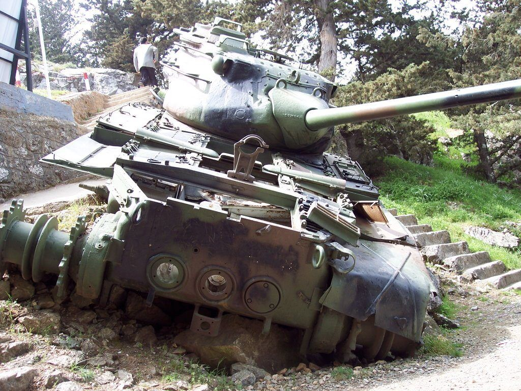 dagdaki tank kibris