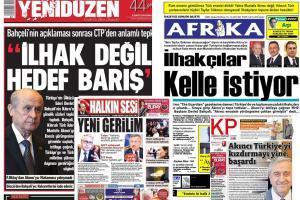 kibris gazeteleri