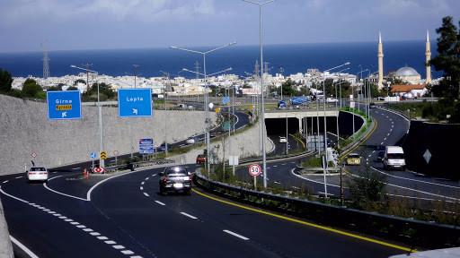 kıbrıs yolları sol şerit trafik